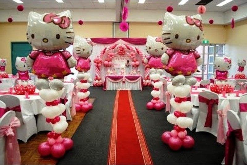 Jasa dekorasi pesta ulang tahun berbagai ragam dekorasi