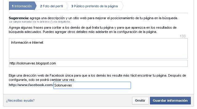 Como hacer tu página de seguidores en Facebook