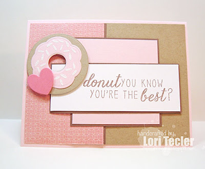 Donut You Know card-designed by Lori Tecler/Inking Aloud-stamps and dies from Reverse Confetti