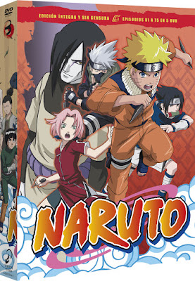"Review de ""Naruto"" DVD BOX 3 - SelectaVisión"