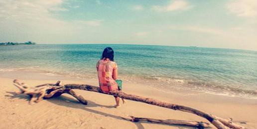 Spot Mini Karimunjawa di Pantai Bondo Jepara