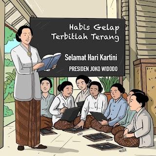 Presiden Ajak Terus Gelorakan Semangat Juang Ibu Kartini
