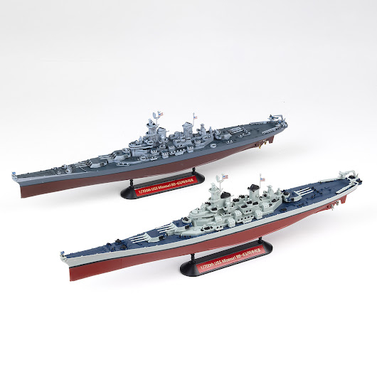 REVIEW: IPM/USA Review of Academy Kit #14222 - USS Missouri BB-63