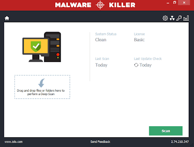 iolo Malware Killer Discount Code, Key Serial, Lizenzschlüssel, Activation Key