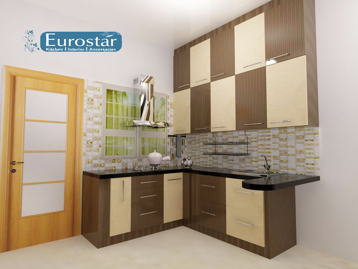 Modular kitchen eurostar kitchens pvc kitchen cabinet for 5 star kitchen cabinets