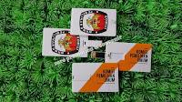 Souvenir Flashdisk Kartu FDCD04  KPU Indonesia