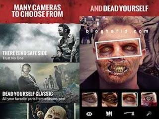 Aplikasi pengubah wajah zombie