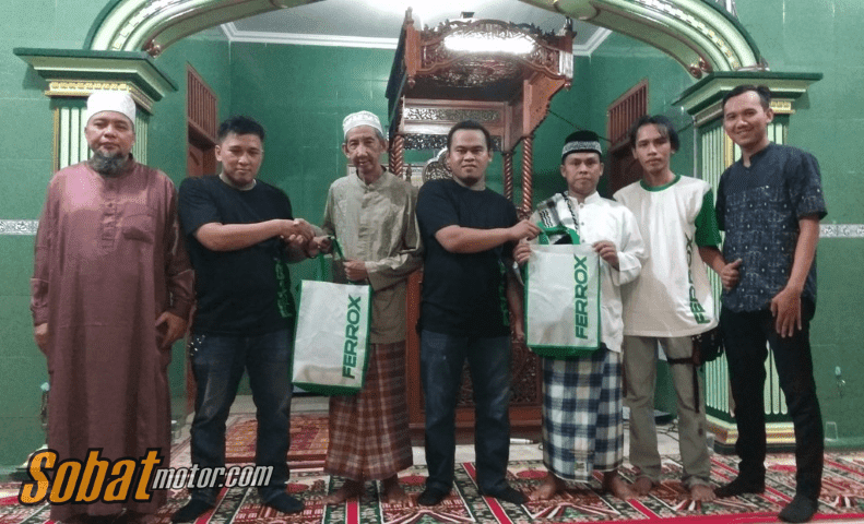 Sambut Ramadhan Komunitas Byson Jakarta Exploride Lakukan Kepedulian Sosial