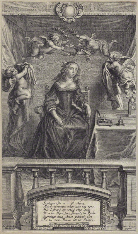 Portrait -Margaret Cavendish - © National Portrait Gallery
