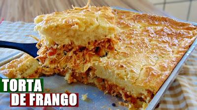 Receita de Torta Fácil de Frango