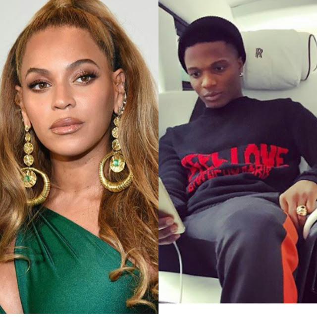 Wizkid 'featured' in Beyonce's forthcoming EP