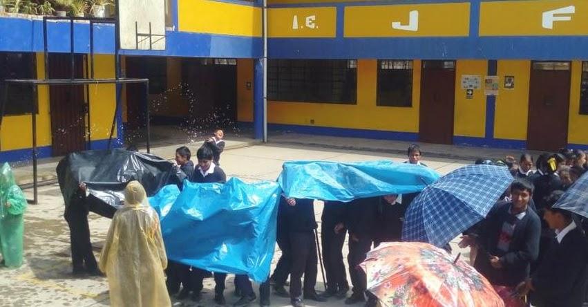 Con total éxito se realizó último Simulacro Nacional Escolar en Santiago de Chuco 2019