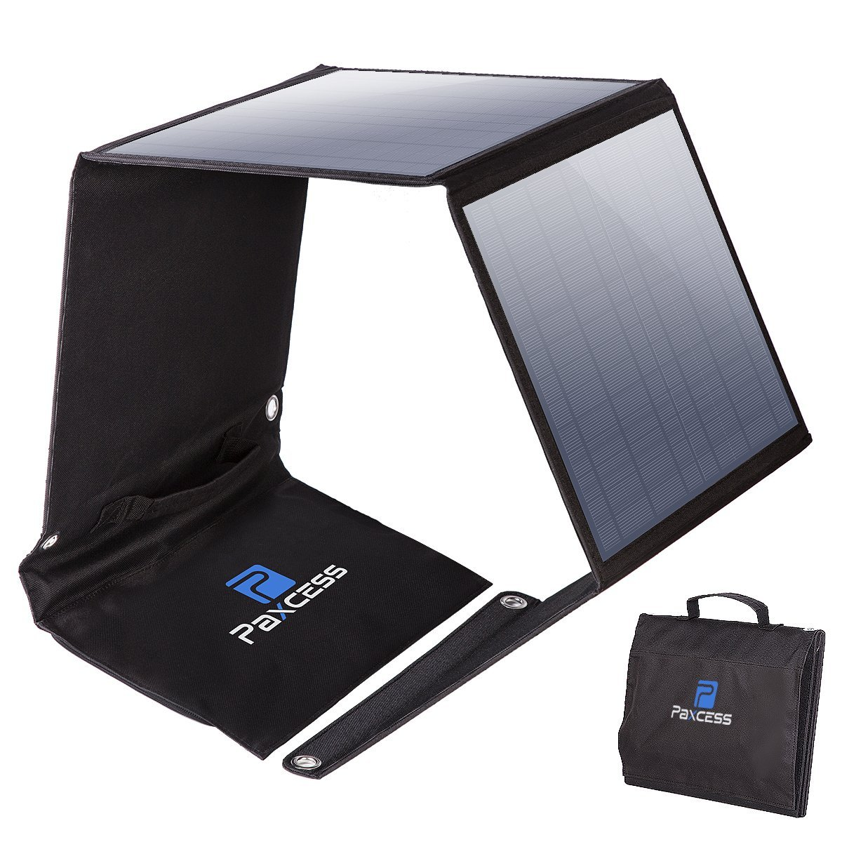 Quot Review Quot Paxcess Foldable 50w Solar Panel Charger For