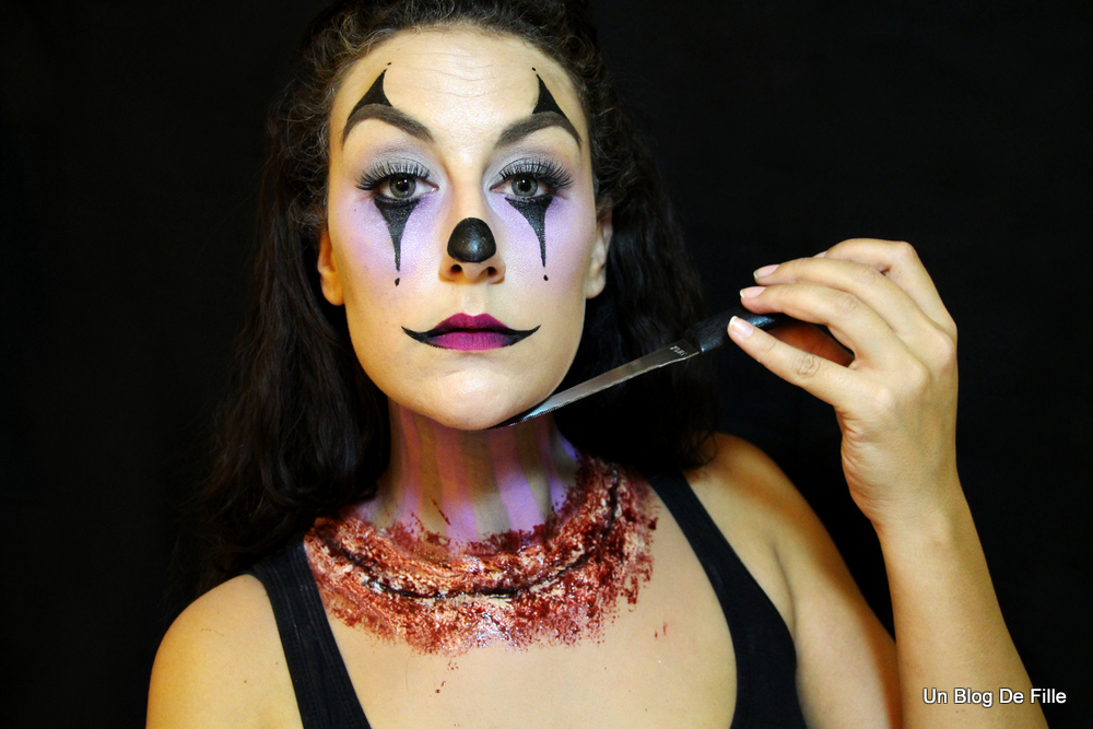 maquillage clown fille
