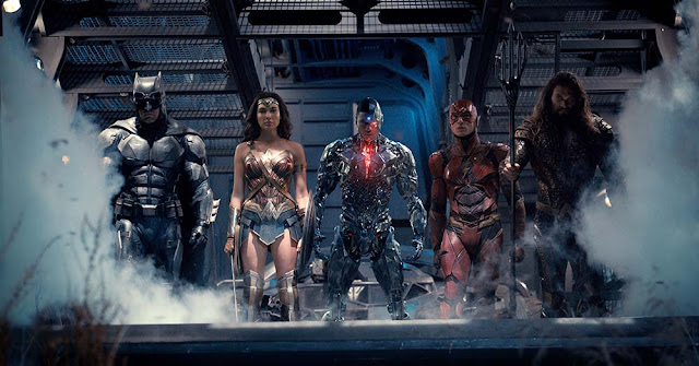 Justice League group photo movie still