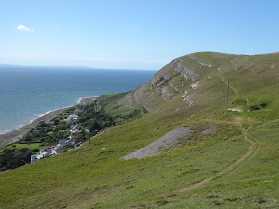 Great Orme - western side, looking north to the sea.