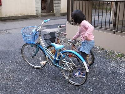 いただいた自転車の修理部品交換再生計画完成と思ったのですが…