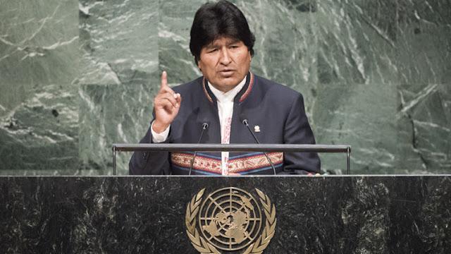 Evo Morales condena el intento de golpe de Estado en Venezuela