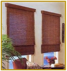 A mi manera cortinas de bamb elegantes - Cortinas de bambu ...