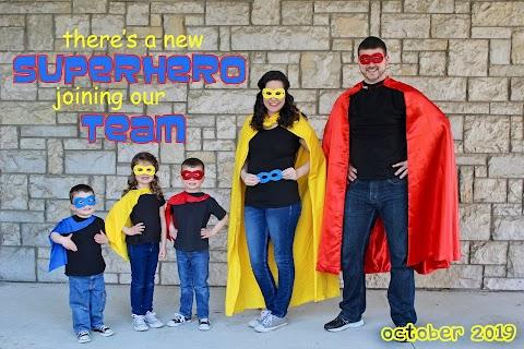Superhero & Pizza Pregnancy Announcement - Part 3