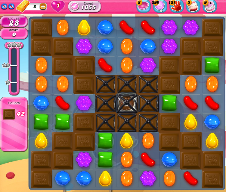 Candy Crush Saga 1655