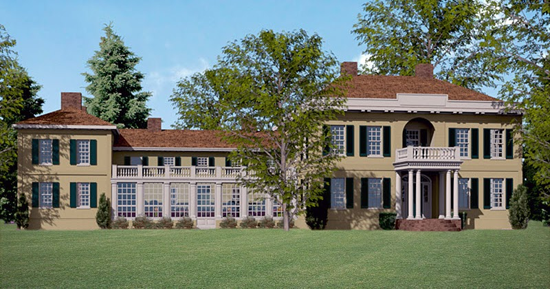 Virtual architectural archaeology the kalorama mansion for Home styles com