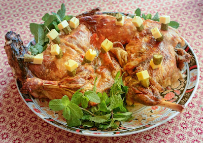Moroccan Mechoui (Slow Roasted Leg of Lamb or Shoulder)