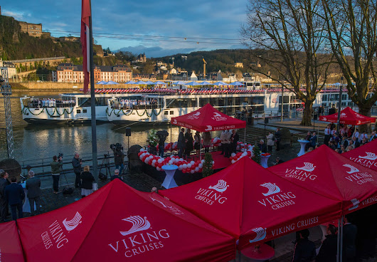 Viking River Cruises Christens two award-winning Viking Longships