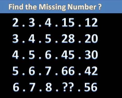 Maths Logic Brain Teaser for Teens