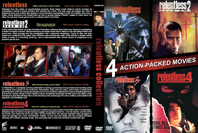 Relentless Collection DVD Cover