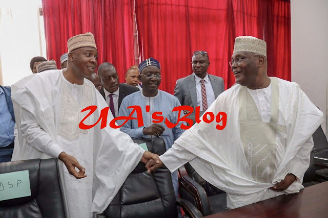 "JUST IN: ""Jubril Of Sudan Must Go"" — Atiku, PDP Say At NEC Meeting"