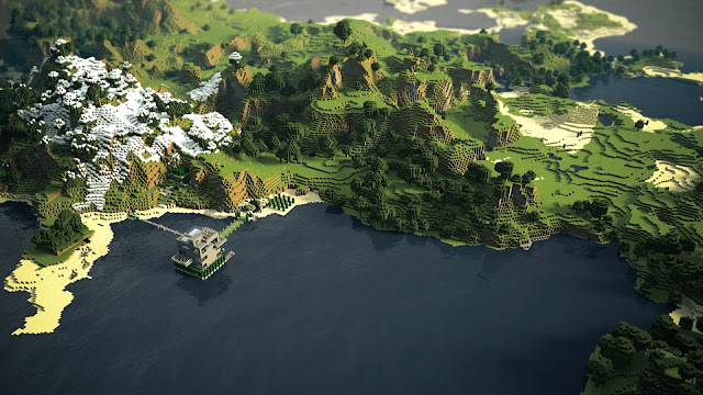 Cool Minecraft backgrounds 6