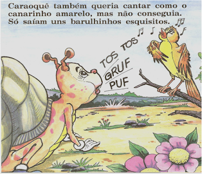 Livro CARAOQUÊ, O CARACOL, de Gerusa Rodrigues Pinto