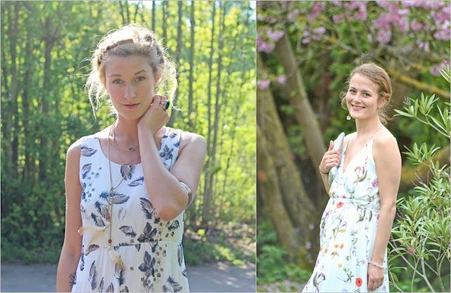 Modeblogger Mona und Jaci zeigen Bohokleider