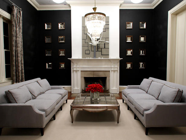 home decor walls modern style for classic living room ideas 2011 from hgtv design star 3. Black Bedroom Furniture Sets. Home Design Ideas