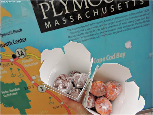 Bolas de Donuts en Plymouth