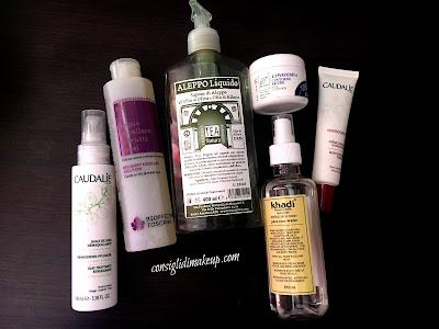 prodotti skincare pelle asfittica