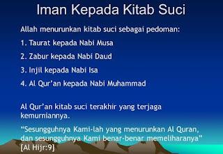 Nama Kitab Kitab Allah Yang Wajib Diimani Oleh Umat Islam