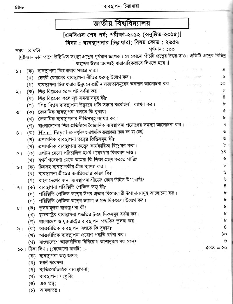 janata bank exam question 2015 assistant executive officer bd management thought question exam 2015 bebosthapona cintadara