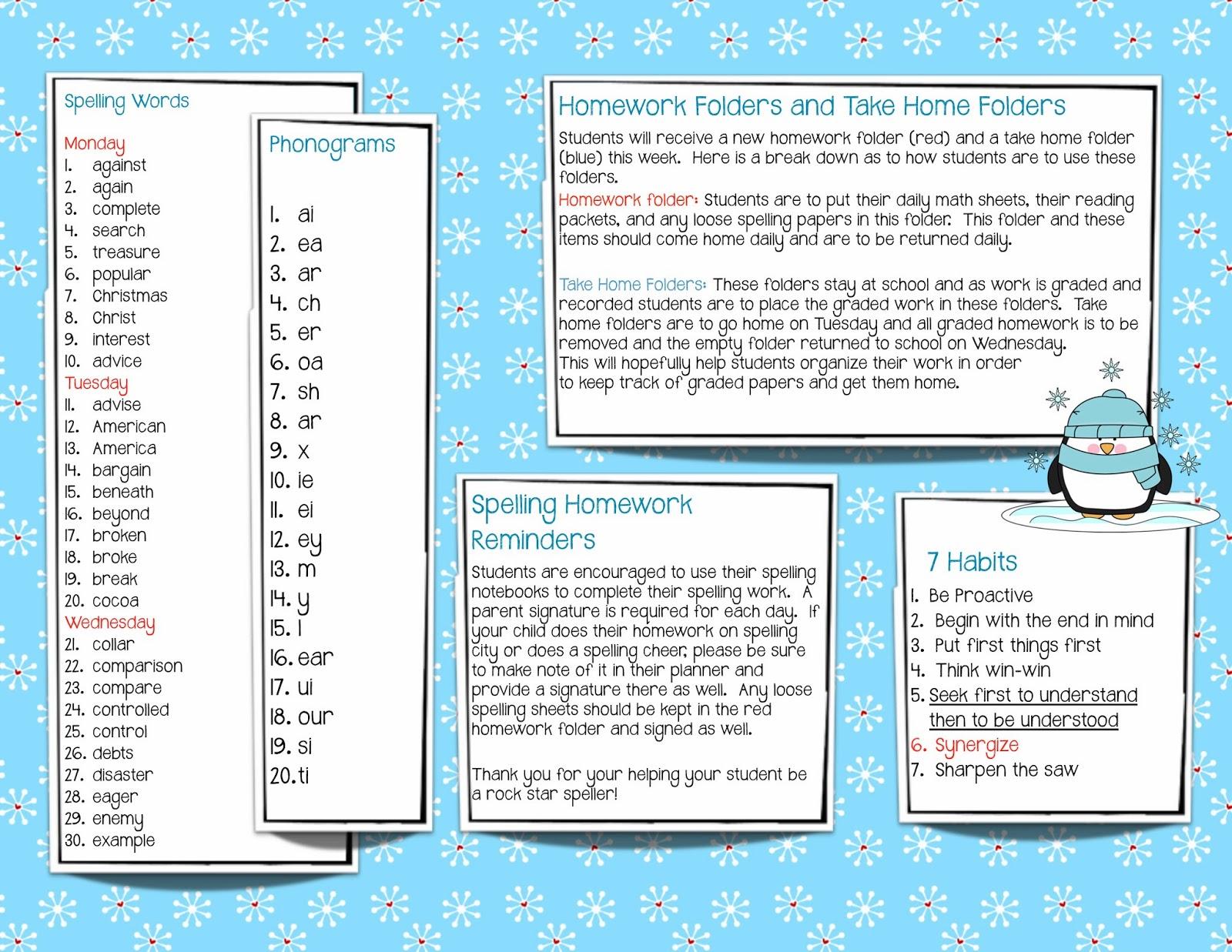 Mrs Hills Classroom Blog Newsletter January 13  17 2014