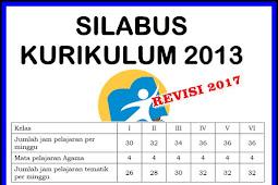 Prota, Promes dan Silabus Kelas 2 dan 5 SD Kurikulum 2013 Revisi