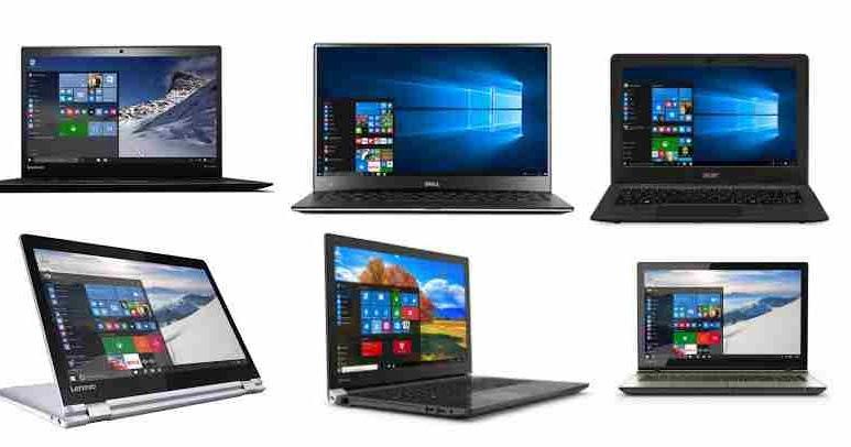 Harga Laptop Windows 10 Semua Tipe Terbaru Juni 2017