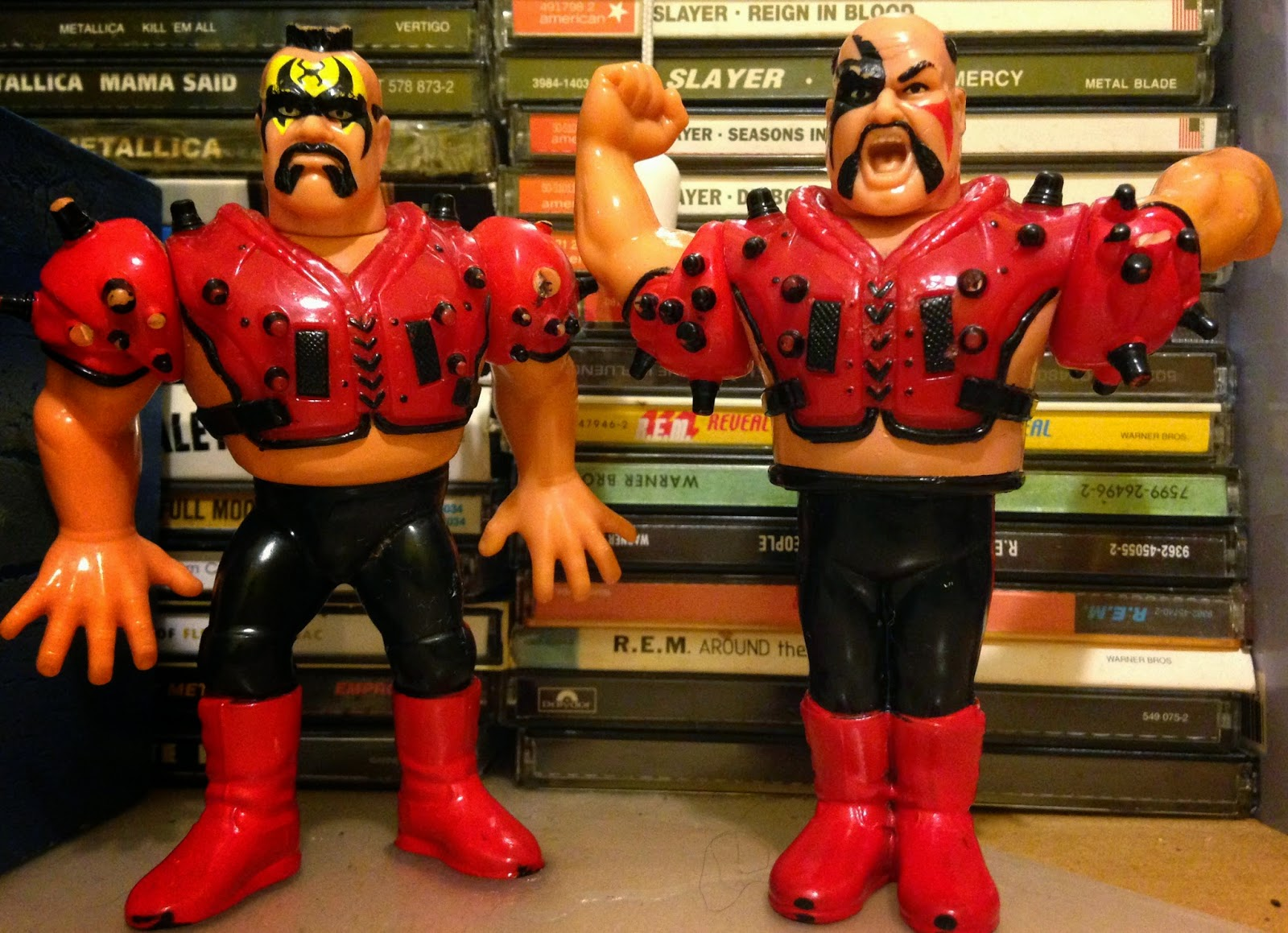 WWF Hasbro Figures - The Legion of Doom