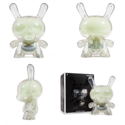 "Glow in the Dark Edition Visible Dunny 8"" Vinyl Figure by Jason Freeny x Kidrobot"