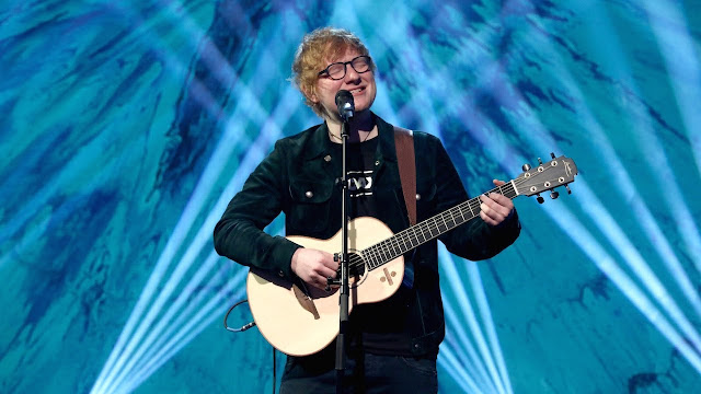 "Ed Sheeran Performs ""Perfect"" On Ellen"