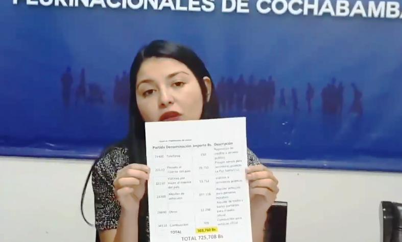 Diputada Franco recibió informe de Cancillería cuatro meses después de la petición / FACEBOOK