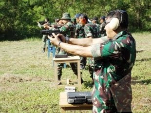 Tingkatkan Keahlian Dan Ketangkasan Prajurit Dengan Latihan Menembak