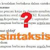 10 Kesalahan Berbahasa Dalam Sintaksis (Analisis )