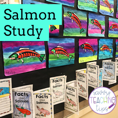 A great free indigenous art idea, and a fantastic research activity about salmon too.