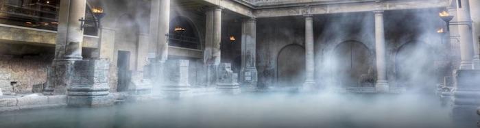 Wielka Brytania rzymskie łaźnie, Bath łaźnie
